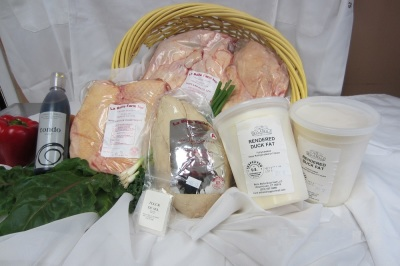 La Belle Farm's Raw Duck Products