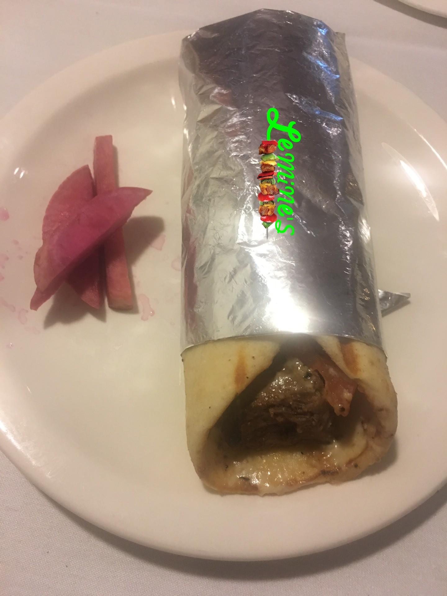 Shish Kabab Sandwich