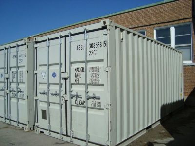 Storage Containers:  Extra Storage on Your Site or Ours