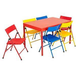 table and six chairs - $15 per set
