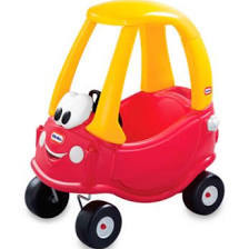cozy coupe (four cars, styles vary)