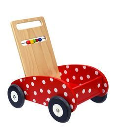 Polka Dot Push Walker (2 available) - $5 each
