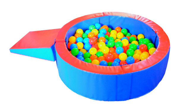 round ball pit with balls