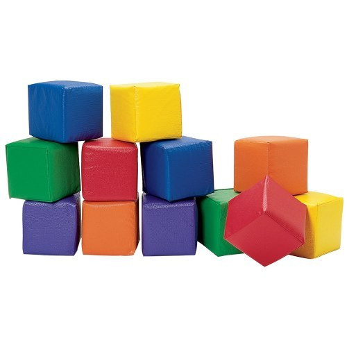 play blocks and mat
