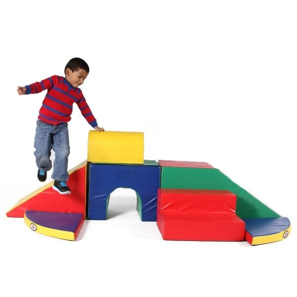 soft wedge playset
