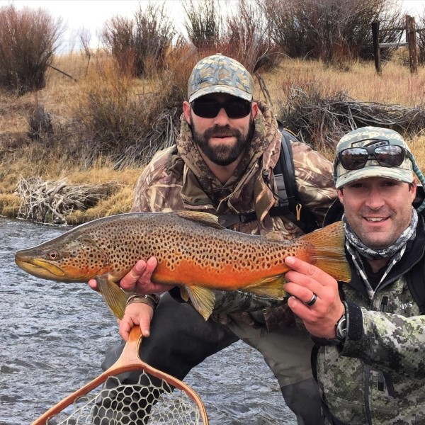 Flyfishing in Southwestern Wyoming