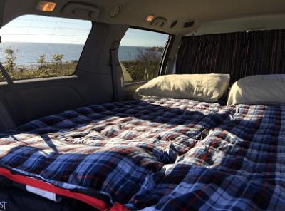 Nr 1 Budget campervan rental Vancouver - car camping upgrade
