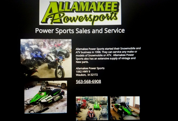 Allamakee Power Sports Main Page