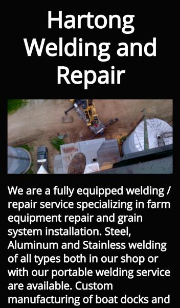 Hartong Welding and Repair Mobile