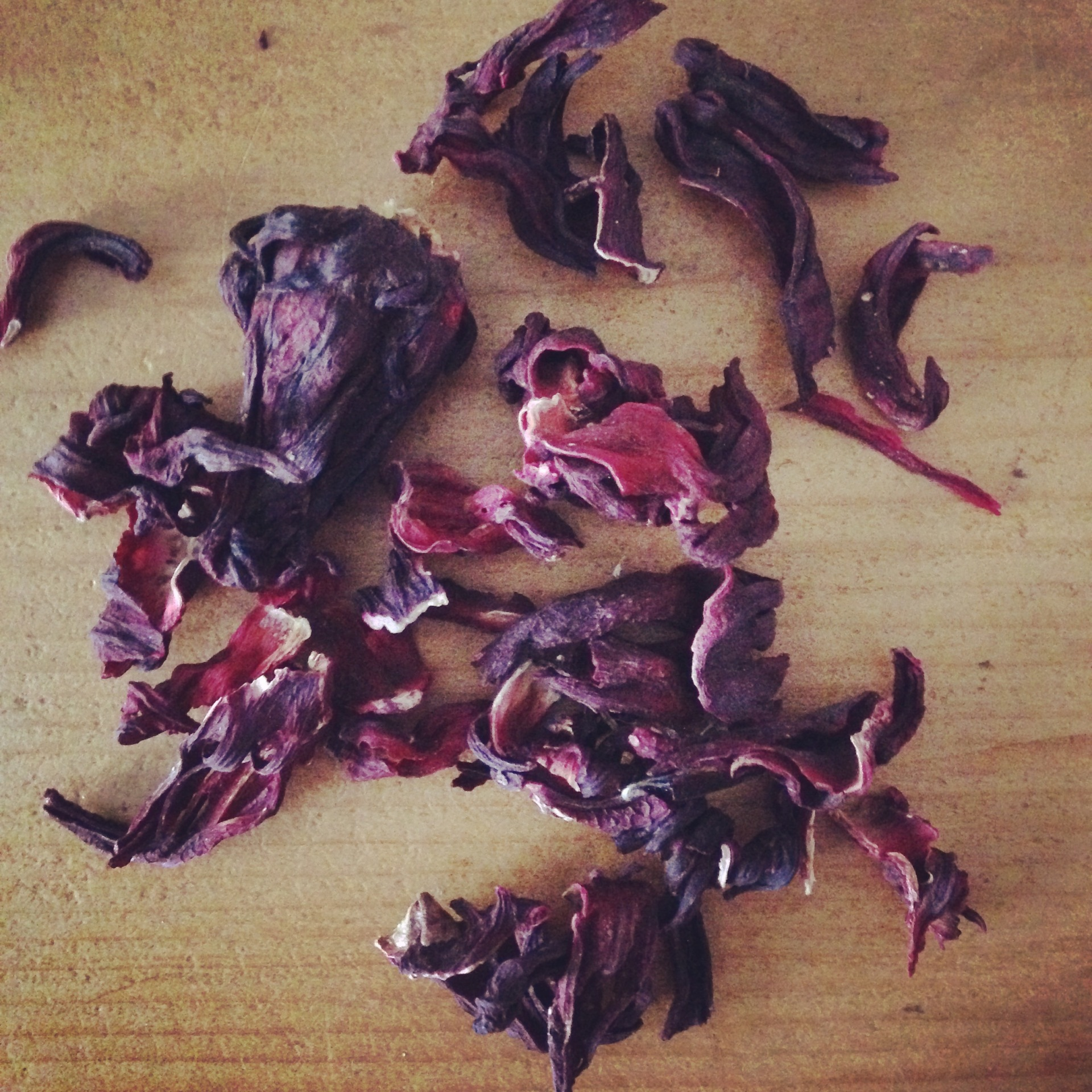 Hibiscus - tea or dye?