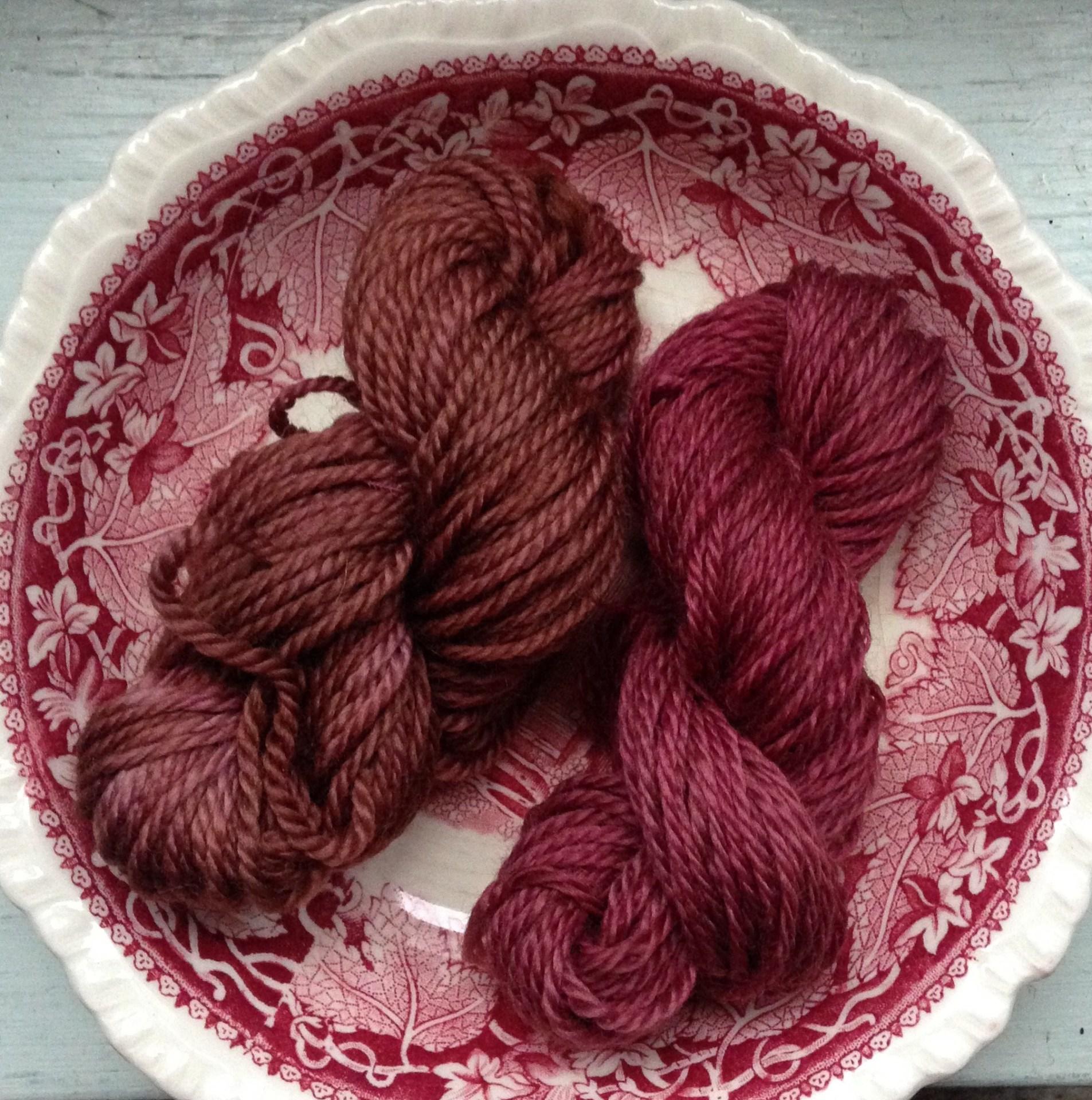 Hybiscus dye, part 3