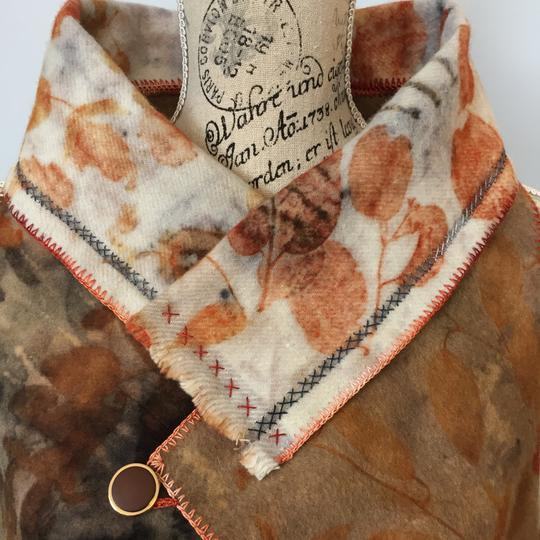 Wool and alpaca vest by Rita Summers