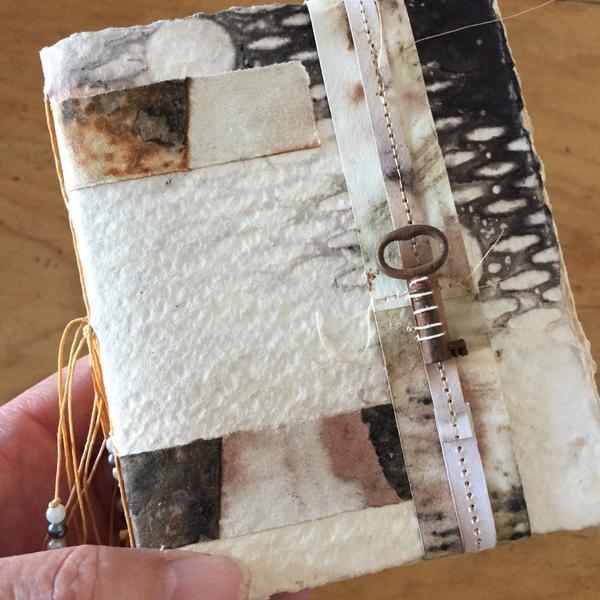 Handmade book by Rita Summers