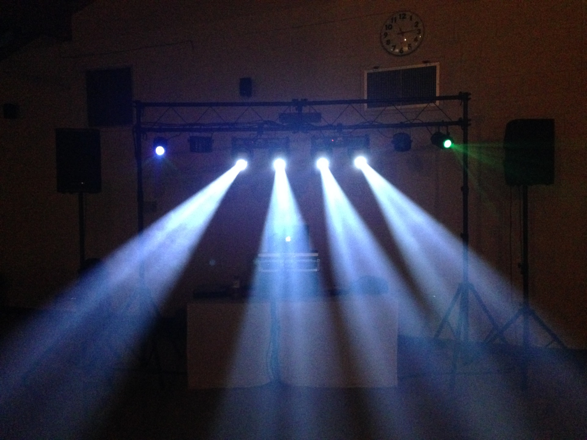 LED dance floor lighting