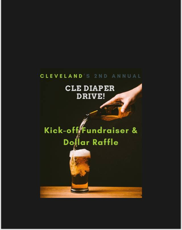 CLE Diaper Drive Kick Off Event 2018