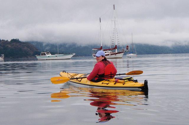 Kayaking in Cowichan Bay
