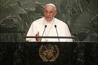 "alt=""Pope Francis at UN"""