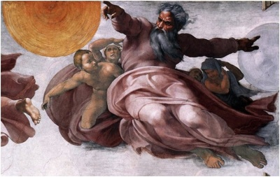 "alt=""Painting of God reaching out"""