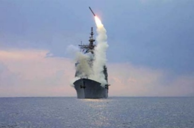 "alt=""Ship firing missle"""