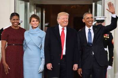 "alt=""Trump welcomed by Obamas"""