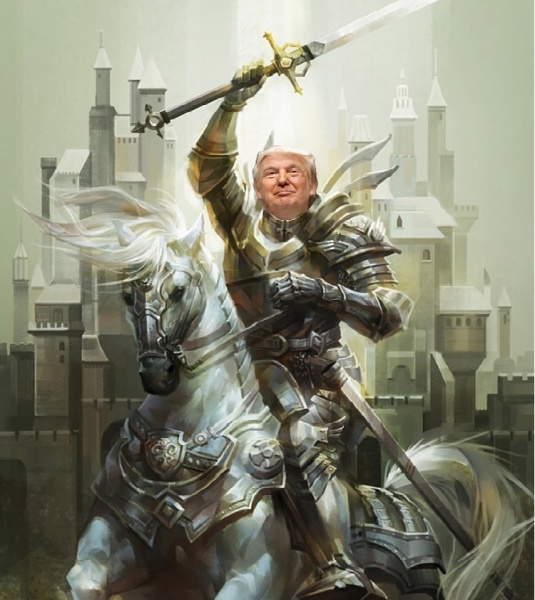 Donald Trump the White Knight