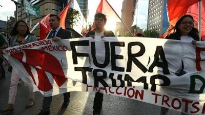 "alt=""Mexicans Protest"""