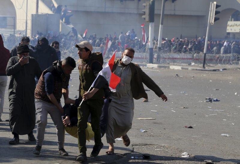 """alt=""""Riots in Baghdad"""""""
