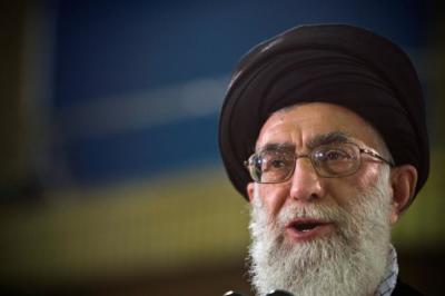 "alt=""Iran's Supreme Leader on Palistine"""