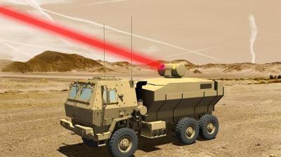 "alt=""Lockheed Martin laser"""
