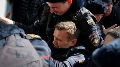 "alt=""Alexei Navalny arrested in Moscow"""