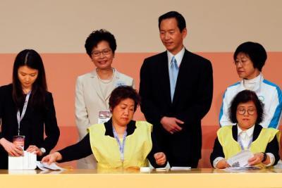 "alt=""Hong Kong chooses new leader"""