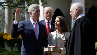 "alt=""Neil Gorsuch sworn in as USA Supreme Court Judge"""