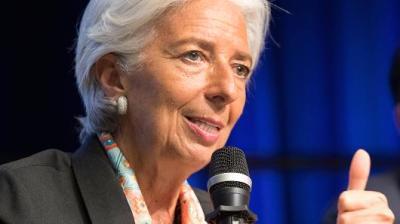 "alt=""IMF's Lagarde"""