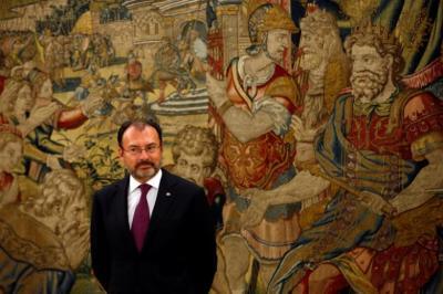 "alt=""Mexico's Foreign Minister Luis Videgaray"""