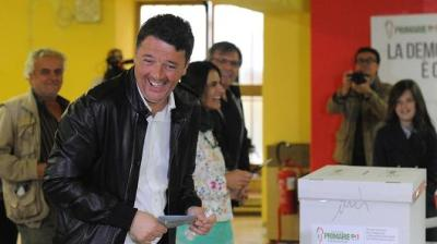 "alt=""Italy's Renzi's comeback"""