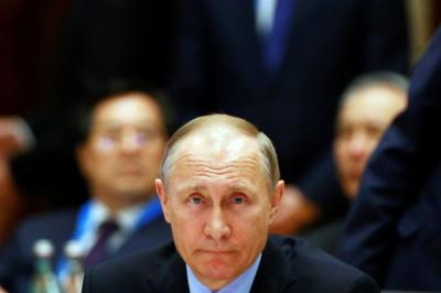 "alt=""Putin says Russia sees no need to arm Syrian Kurds"""