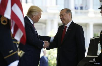 "alt=""Trump hosts Erdogan"""