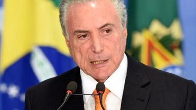 "alt=""Brazil President Temer: Oust me if you want"""