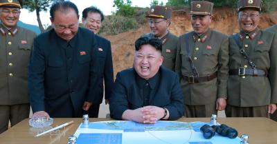 "alt=""North Korea warns of 'bigger gift package' for US"""