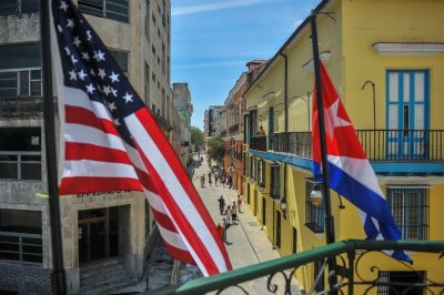 "alt=""Trump will move to halt historic rapprochement between U.S. & Cuba"""