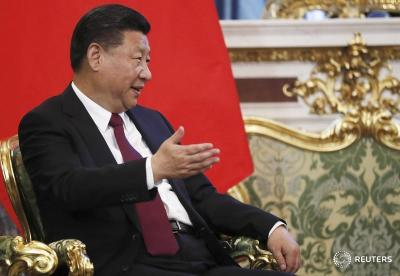 "alt=""China's Xi urges peaceful resolution to North Korea issue"""