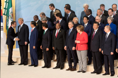 "alt=""Once dominant, the USA finds itself isolated at the G-20 conference"""