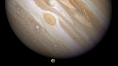 "alt=""Jupiter's Great Red Spot is ready for its close-up as the Juno spacecraft goes 'screaming' past"""