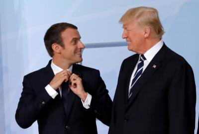 "alt=""Trump and Macron may not be an odd couple after all"""
