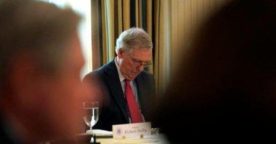 """alt=""""Senate rule deals setback to Republican healthcare bill"""""""