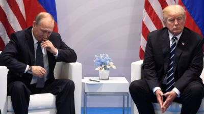 "alt=""Russia sanctions: Trump's hand forced by Senate vote"""