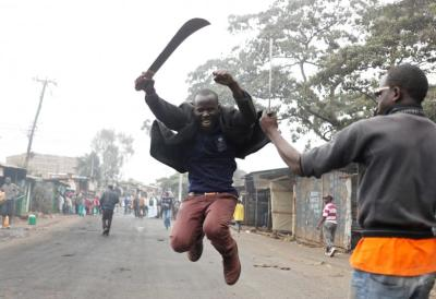 "alt=""Tensions rise after Kenya's contested election"""