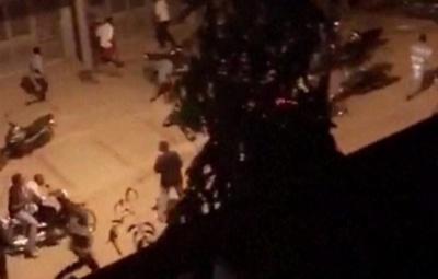 "alt=""Burkina Faso gun attack kills 18 people at cafe"""