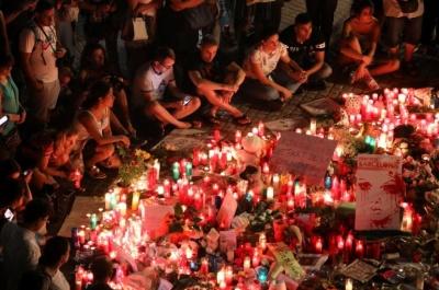 "alt=""Barcelona van attacker may still be alive, on the run: police"""