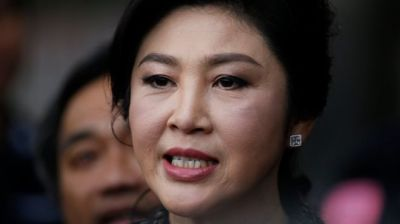 "alt=""Yingluck trial: Thais seek ex-PM after she fails to show for verdict"""